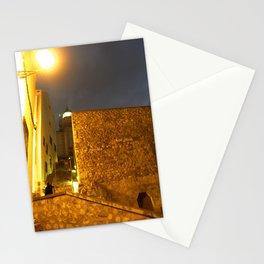 Iluminando la noche Stationery Cards