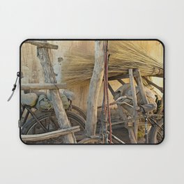 Brooms and Bicycles  Laptop Sleeve