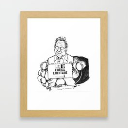 Vert Délétère Framed Art Print