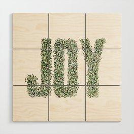 Christmas Joy Wood Wall Art