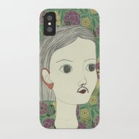 moustache iPhone & iPod Cases featuring moustache by Willy Ollero