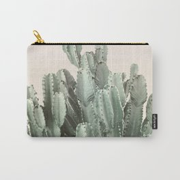 Cactus on Blush Carry-All Pouch