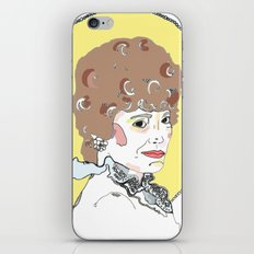 Blanche iPhone & iPod Skin