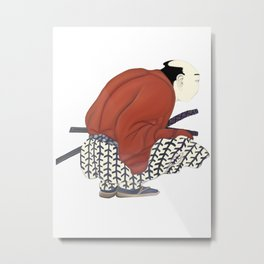 Japanese Man Metal Print
