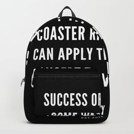 3  | Nipsey Hussle Quotes Backpack