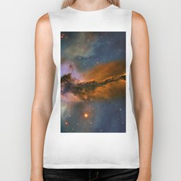 Stellar Spire in the Eagle Nebula Biker Tank