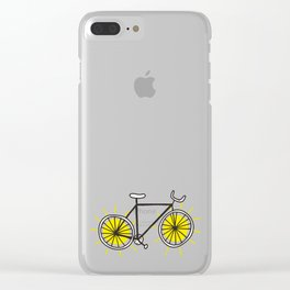 Ride On Sunshine Clear iPhone Case