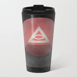Illuminati Metal Travel Mug