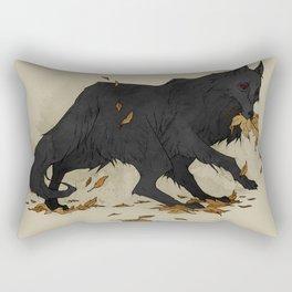 Black Shuck II Rectangular Pillow