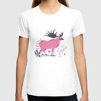 elk T-shirts featuring Elk by Rodrigo Fortes