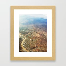 Urban Planning. Framed Art Print