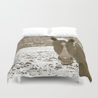 rustic Duvet Covers featuring Rustic by Stormy Mae