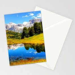 mountain_landscape Stationery Cards