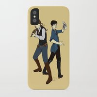 bioshock infinite iPhone & iPod Cases featuring Bioshock Infinite by Slythermint