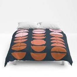 Modern Desert Color Shapes Comforters