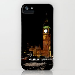 London Retro iPhone Case