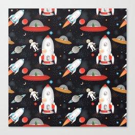 Spaceships Canvas Print