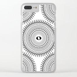 Music mandala no 2 Clear iPhone Case