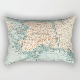 Vintage Alaska Rectangular Pillow