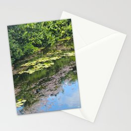Reflections in a Pond Stationery Cards