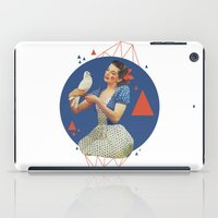 dorothy iPad Cases featuring Dorothy by Cut and Paste Lady