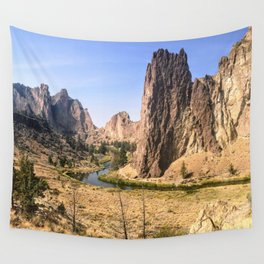 Smith Rock State Park Wall Tapestry