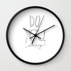 Do You, Darling Wall Clock