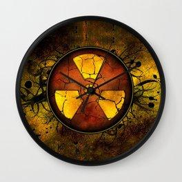 Umbrella of death Wall Clock