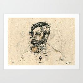 Lazlo Art Print
