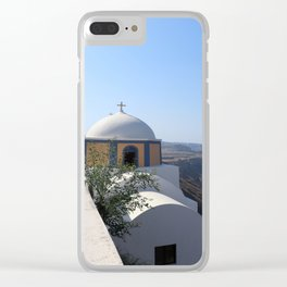 Cathedral Of Saint John The Baptist Clear iPhone Case