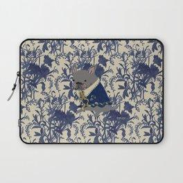 French Bulldog - BLUE Laptop Sleeve