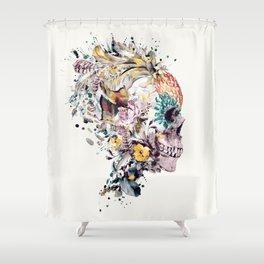 Momento Mori VII Shower Curtain