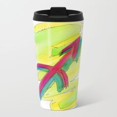 Sagittarius flow Metal Travel Mug
