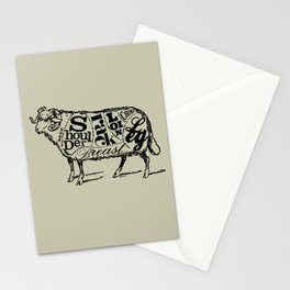 Mutton Cuts Stationery Cards