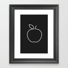 Apple 20 Framed Art Print