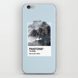 Pantone Series – Mountain Mist iPhone Skin