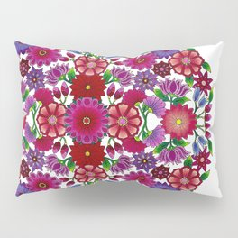 MauindiArts Bouquet Mandala Print Pillow Sham