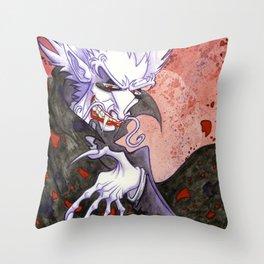 Dracula Bad Romance Throw Pillow