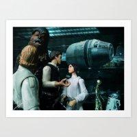 Art Print featuring The Original Star Wars Rebels of '77 by jcalum2012