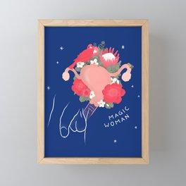 Magic Woman Framed Mini Art Print