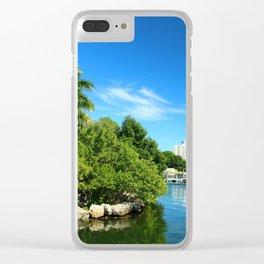 Key Biscane Bay Clear iPhone Case