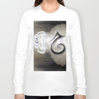 swan queen Long Sleeve T-shirts featuring Swan by CrismanArt