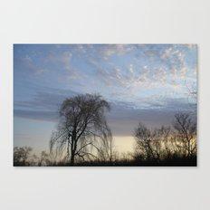 Willow on the Horizon Canvas Print