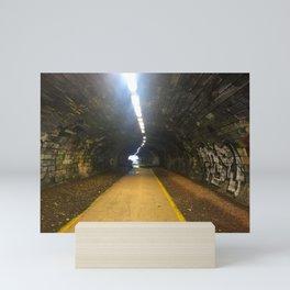 Rodney St Tunnel Path In Edinburgh  Mini Art Print