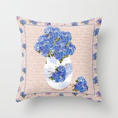 Afternoon Bouquet Throw Pillow