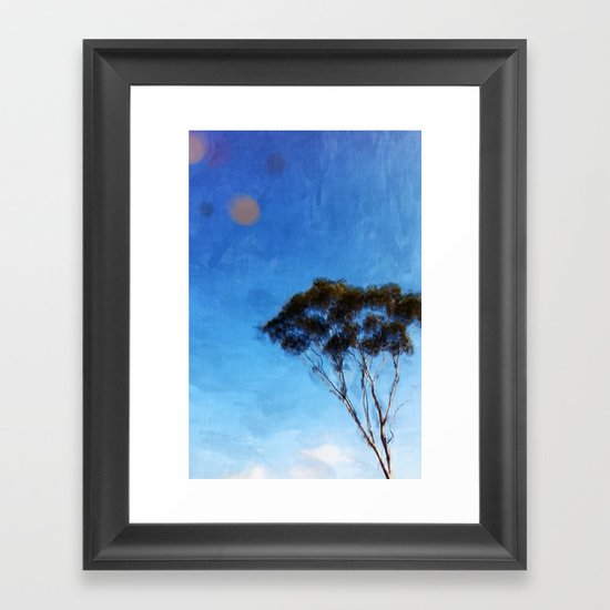 I Want to  Be a Tree Framed Art Print