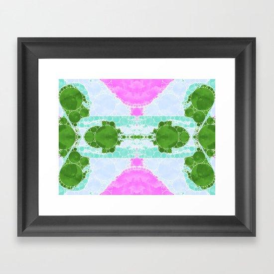 PHANTASY CELL STORY Framed Art Print