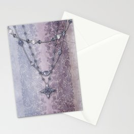 ABIGAIL'S LACE: MAUVE and MORE Stationery Cards