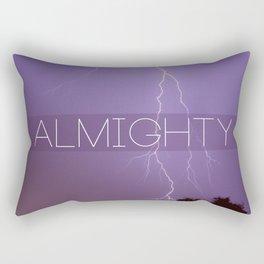 Girl Almighty Rectangular Pillow
