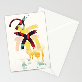 Abstract geometric art Stationery Cards